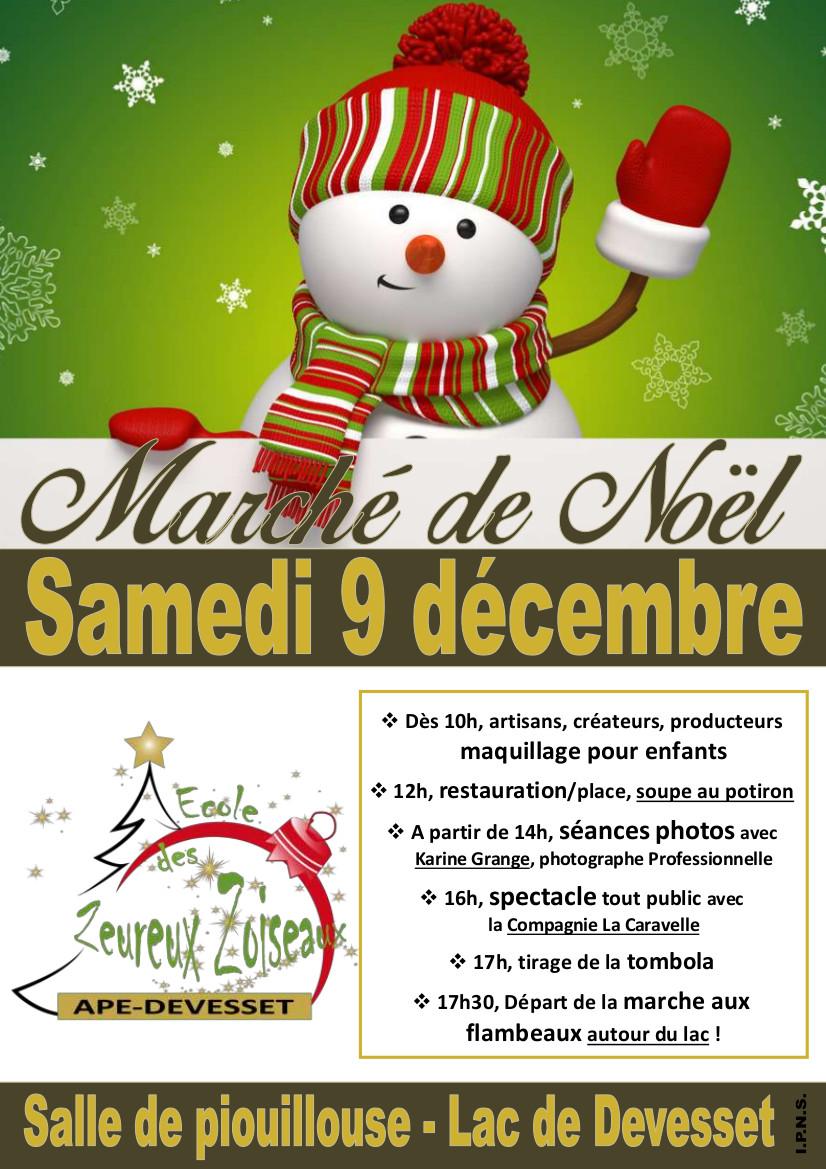 Marché de Noël Devesset 2017